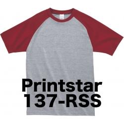 プリントスター ラグランTシャツ 137-RSS