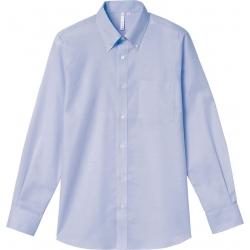 長袖オックスフォードボタンダウンシャツ(メンズ) 807-LOM