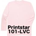 プリントスター長袖Tシャツ101-LVC