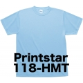 プリントスター ハニカムメッシュTシャツ118-HMT(子供用)