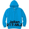 ジップアップライトパーカー Jellan 217-MLZ