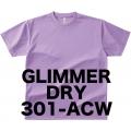 アクティブ ドライTシャツ レディス Glimmer 301-ACW