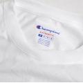チャンピオン 5.2oz ロングスリーブTシャツ襟タグ無し(袖エンブレム付き)CC8C
