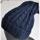 NEWHATTAN (NEW FASHIONS OF NEW YORK) アクリル ケーブル編み ニット帽 NF3024