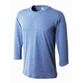 トライブレンド3/4スリーブTシャツ TBL-118