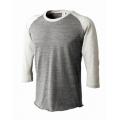 トライブレンドラグラン7分袖Tシャツ(メンズ)TQS-122