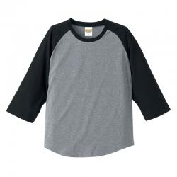 UA-5404 5.0オンス ラグラン 3/4スリーブ Tシャツ