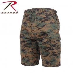 65412 ロスコ BDU ショートパンツ ROTHCO BDU SHORTS - WOODLAND DIGITAL