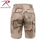 7672  ロスコ BDU ショート パンツ ROTHCO BDU SHORTS - TRI-COLOR DESERT
