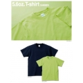 UA-5001 5.6オンスTシャツ