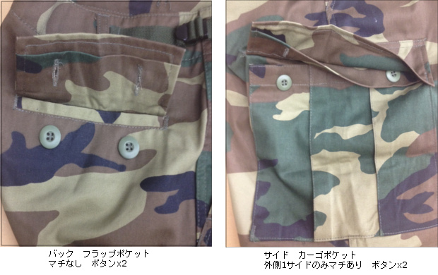 65412 ロスコ BDU ショート パンツ ROTHCO BDU SHORTS - WOODLAND DIGITAL