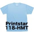プリントスター ハニカムメッシュTシャツ118-HMT