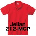 コットンポロシャツ Jellan 212-MCP