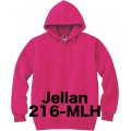 フーデッドライトパーカー Jellan 216-MLH