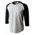 オープンエンドラグラン3/4スリーブTシャツ OE1211