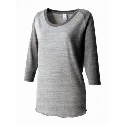 トライブレンドラグラン7分袖Tシャツ(レディース) TQS-121