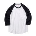 UA-5045 5.6オンス ラグラン 3/4スリーブ Tシャツ